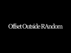 Offset Outside Random