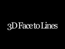 3dFace To Lines