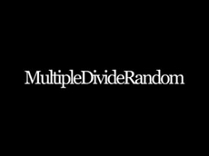 Multiple Divide Random