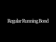 Regular Running Bond