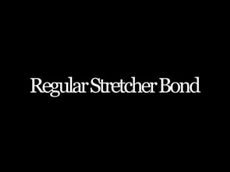 Regular Stretcher Bond